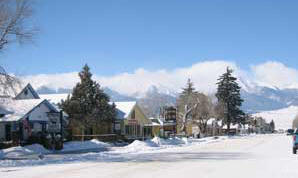Westcliffe, Colorado - Our town in winter